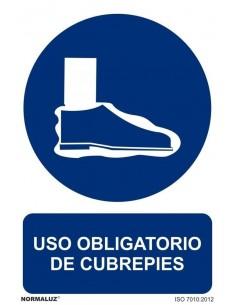 Señal Obligatorio Cubre pies