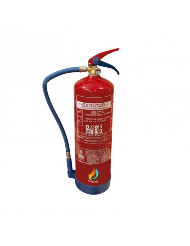 Extintor espuma - agua AFFF 6 L