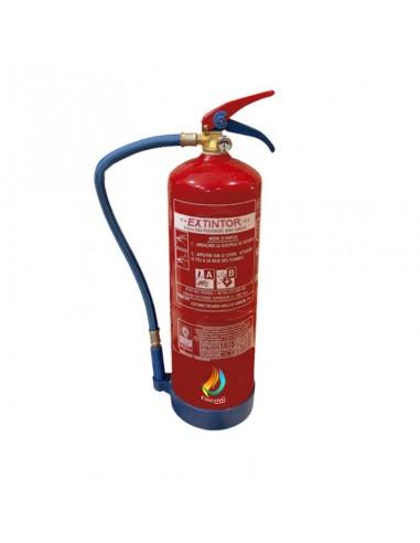 Extintor 9 L agua con aditivos AFFF