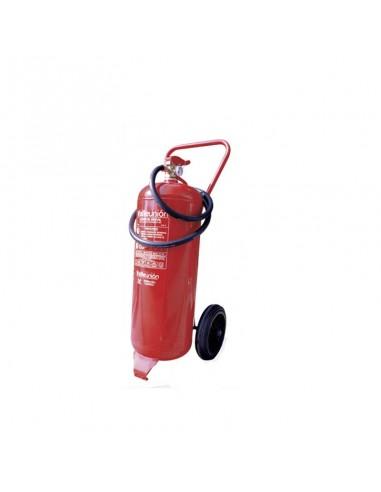 Extintor carro 25 kg polvo abc