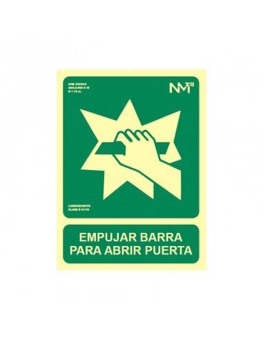 Señal Empujar Barra
