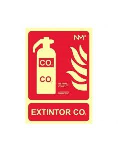 Señal Extintor CO2