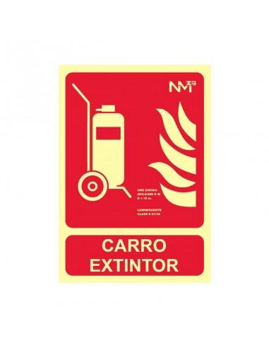 Señal Extintor Carro