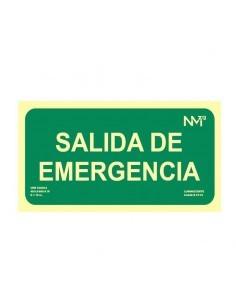 Señal Salida emergencia...