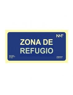 Señal Zona de refugio